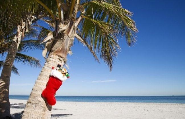 3 lugares para pasar una Navidad en la playa