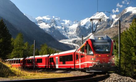 3 rutas en tren por Europa con paisajes increíbles