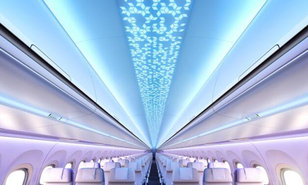 Airbus presentó su nueva cabina de pasajeros