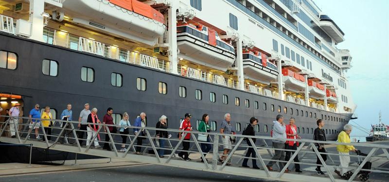 Aumenta el número de cruceristas en nuestro país