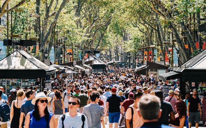 Aumenta el turismo en todo el mundo