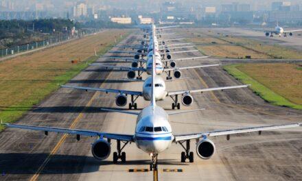 Aumenta en un 5,9% el tráfico internacional de pasajeros