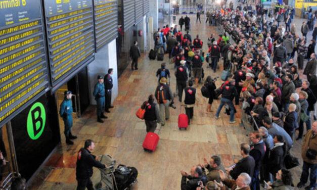 Aumentan los pasajeros de la red Aena