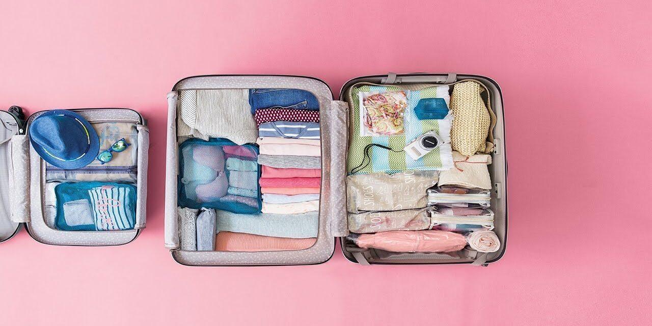 ¿Cómo hacer correctamente la maleta?