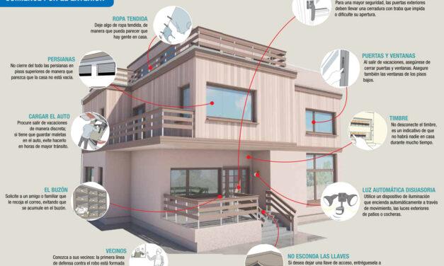Consejos para proteger tu casa en vacaciones