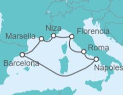 Crucero por las 5 maravillas del Mediterráneo