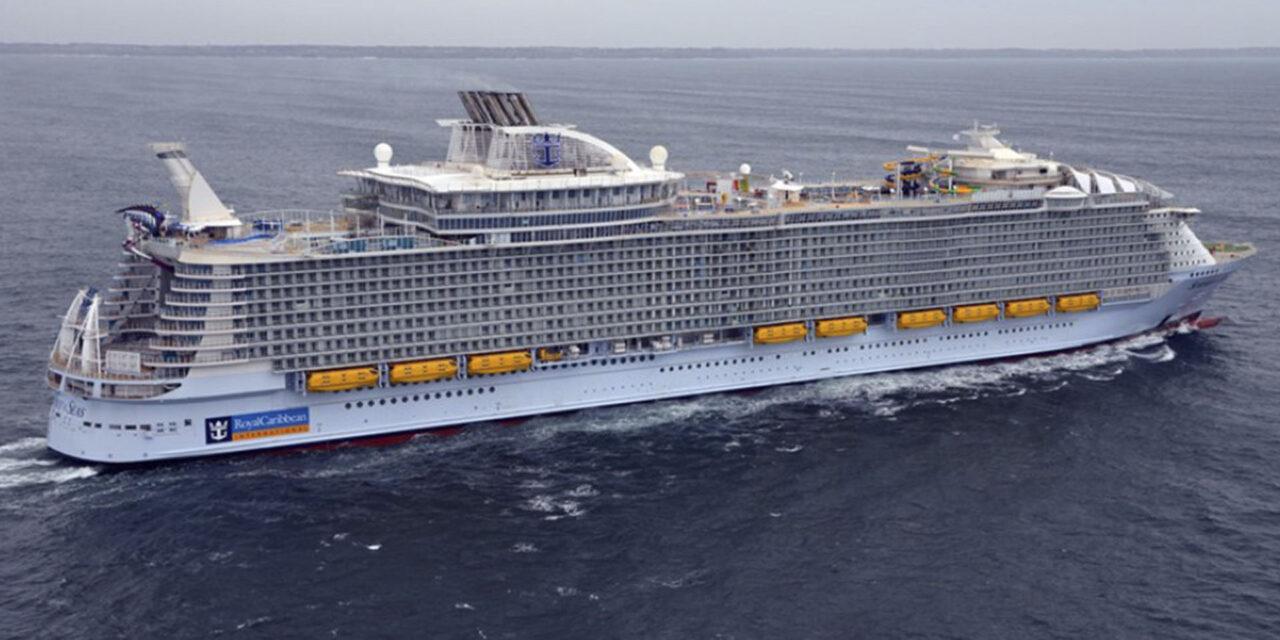 De viaje en el crucero más grande del mundo