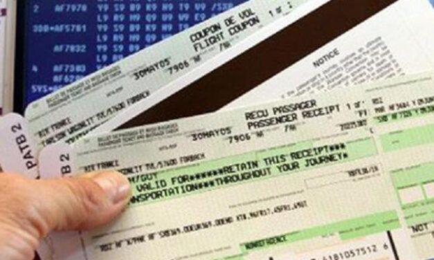 Descenso de precio en los billetes de avión