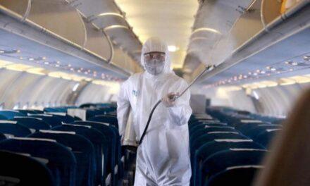 Desciende el tráfico aéreo internacional