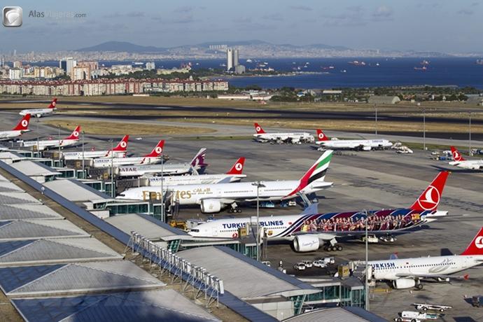 El aeropuerto más grande del mundo estará en Turquía