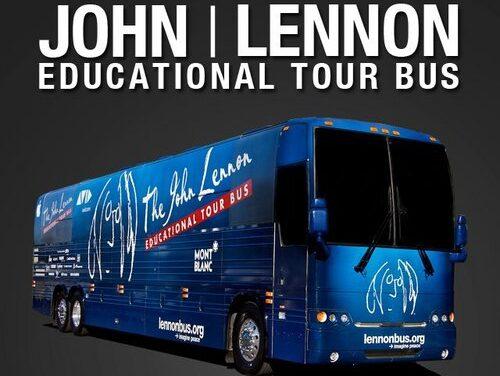 El autobús de John Lennon recorrerá toda Europa