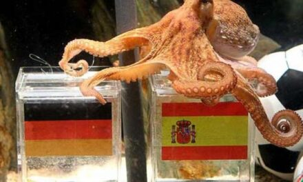 El pulpo Paul promociona Alemania en Madrid