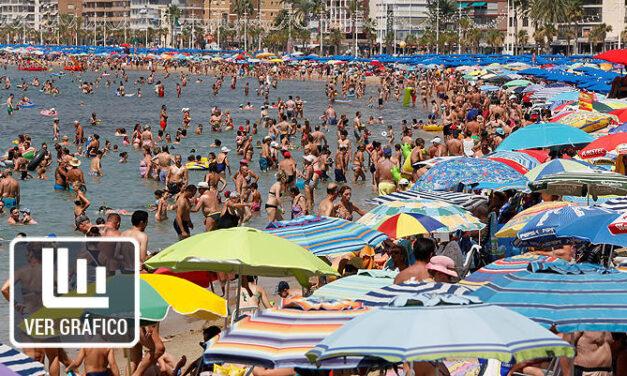 España vuelve a batir otro récord turístico