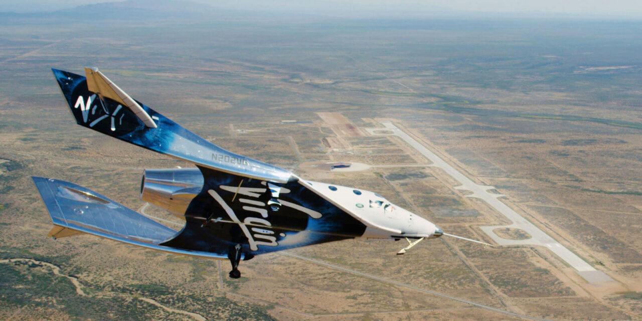 Éxito en el primer vuelo de la Space Ship Two