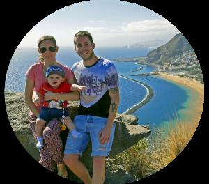 Felicidad Viajera, una familia de trotamundos
