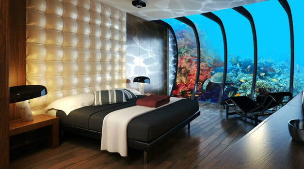Hoteles submarinos, tendencia de alojamiento