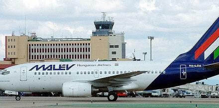 La aerolínea húngara Málev echa el cierre