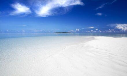 La playa más blanca del mundo