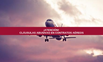 Las cláusulas abusivas de algunas compañías aéreas