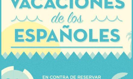 Las vacaciones de los españoles