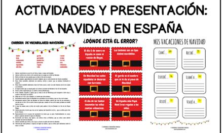 Las vacaciones de Navidad de los españoles
