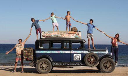 Los Zapp, la familia más viajera del mundo