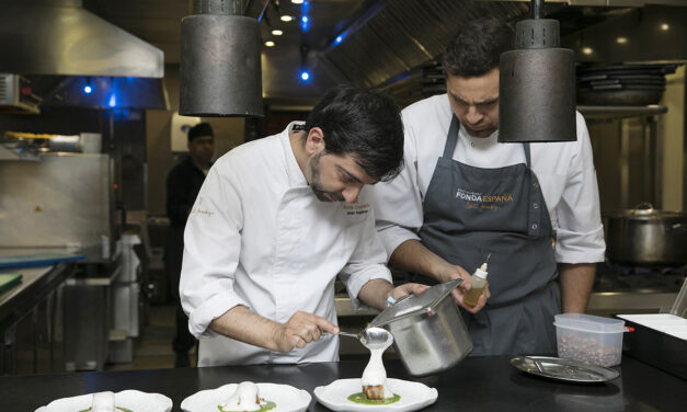 Modernisno y gastronomía en La Pedrera
