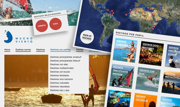 Nueva web de viajes de lujo
