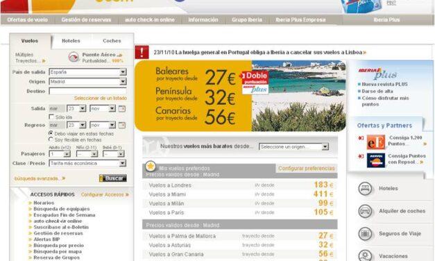 Nuevas ofertas de vuelos en Iberia