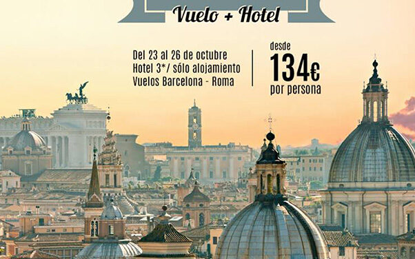 Oferta de de viaje a Roma