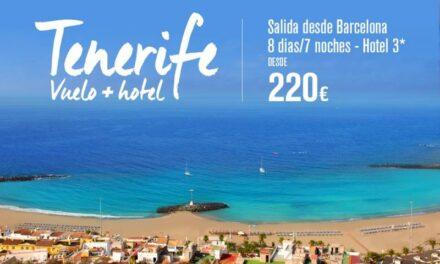 Oferta de viaje a Tenerife