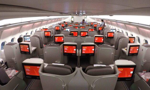 Oferta de vuelos a México en Business Class