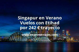 Ofertas para volar a Singapur