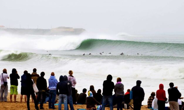 Peniche, capital mundial del surf