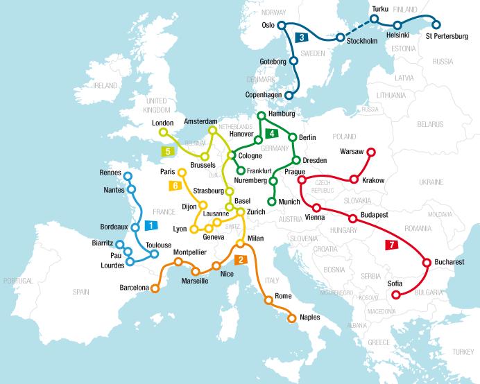 Rail Planner, para viajar en tren