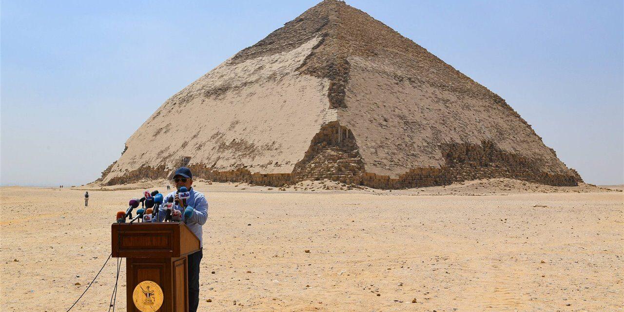 Reabierta la pirámide egipcia del rey Unis