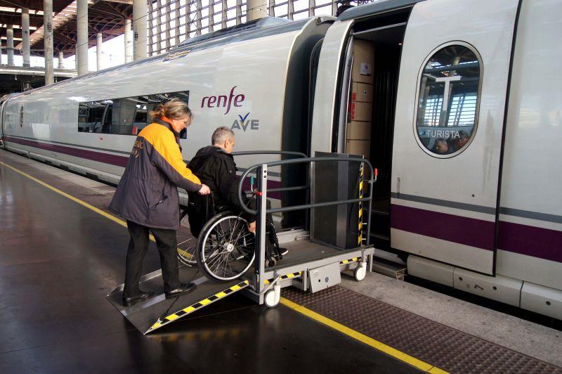 Renfe y la accesibilidad