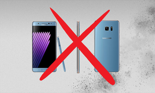 Restricción de vuelos con el Galaxy Note 7