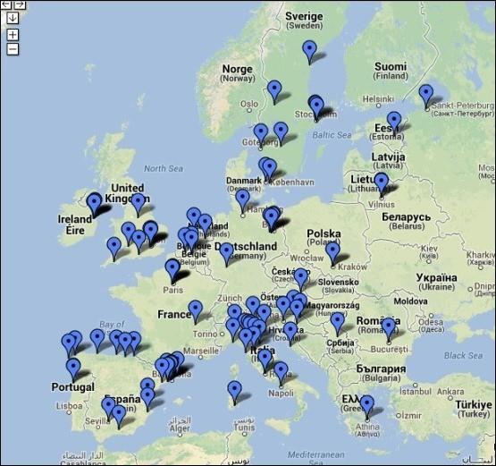 Rutas de necroturismo en Europa