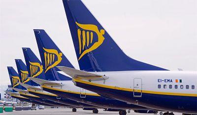 Ryanair aumenta sus plazas para esta Navidad