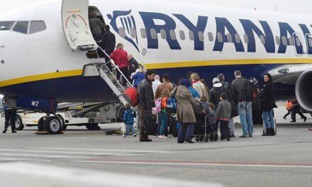 Ryanair reducirá su tráfico de pasajeros en España