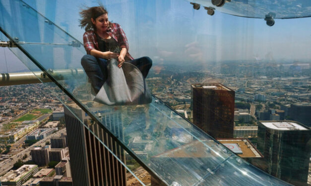 Skyslide, un tobogán a 305 metros