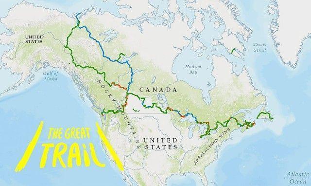 The Great Trail, el sendero de 24.000 kilómetros