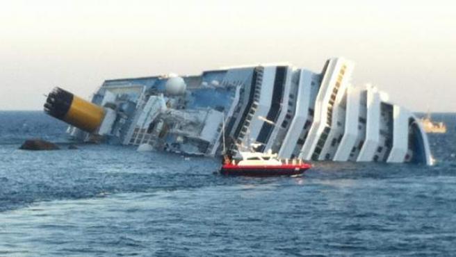 Tragedia en un crucero en Italia