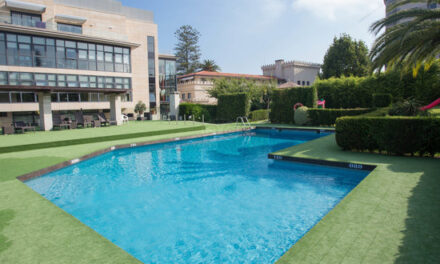 Un hotel con piscina en Vigo con un precio inmejorable
