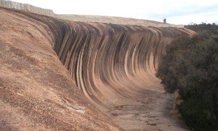 Wave Rock, una ola convertida en piedra